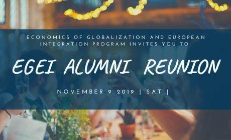 EITEI / EGEI Alumni Reunion, Prague, 9 November 2019